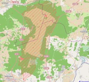 Truppenübungsplatz Open Street Map